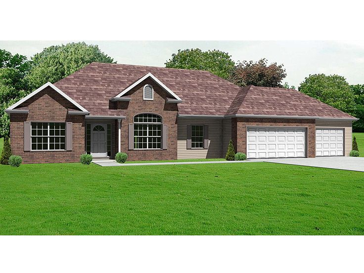 Traditional Home Plan, 048H-0019