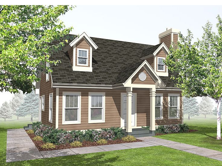 Small House Plan, 016H-0019