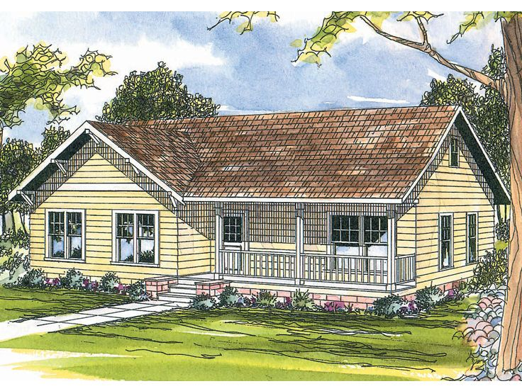 Small House Plan, 051H-0060