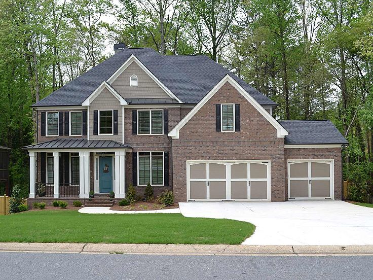 Traditional House Plan, 053H-0091