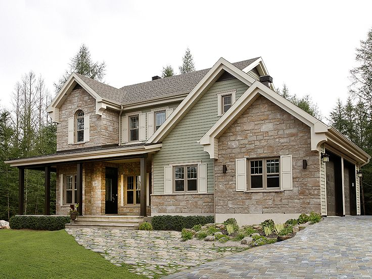 Country House Plans | Two-Story Country Home Plan #027H-0339 At