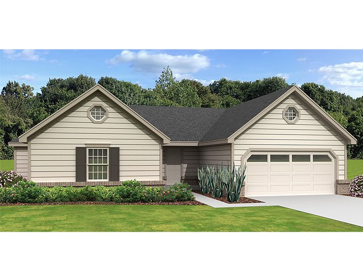 Affordable House Plan, 006H-0158