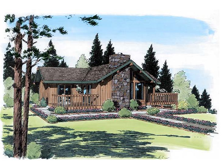 Vacation House Plan, 047H-0082