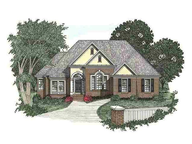 1-Story House Plan, 045H-0012