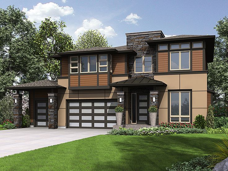 2-Story House Plan, 035H-0124