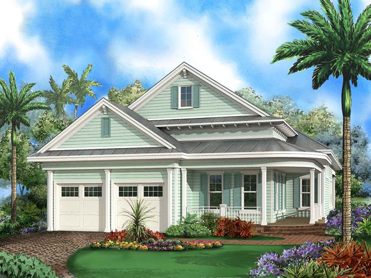 Coastal House Plan, 037H-0248