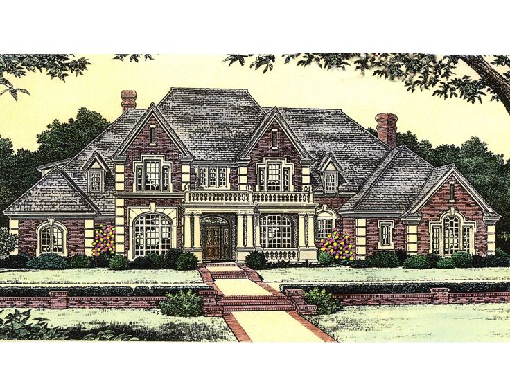 2-Story House Plan, 002H-0065