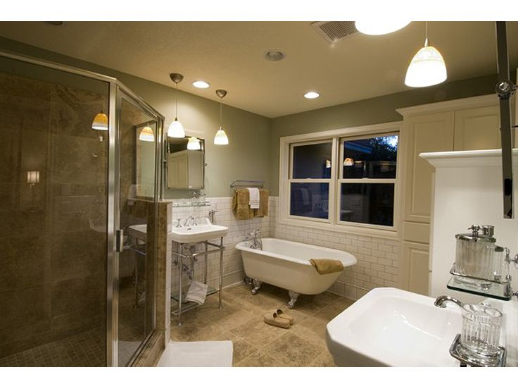 Master Bathroom Photo, 007H-0121