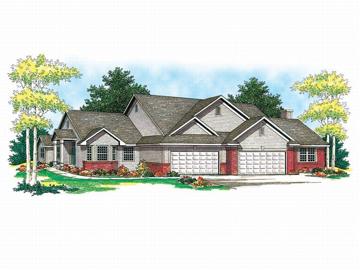 Multi-Family Home Plan, 020M-0004
