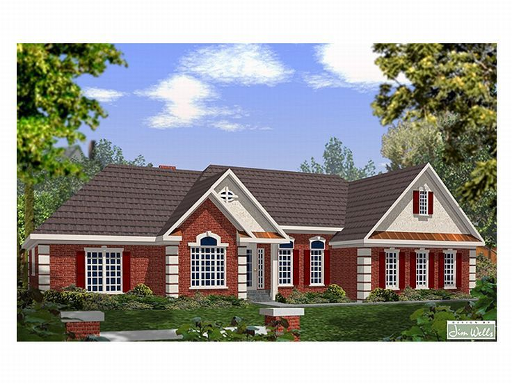 Traditional Home Design, 007H-0064