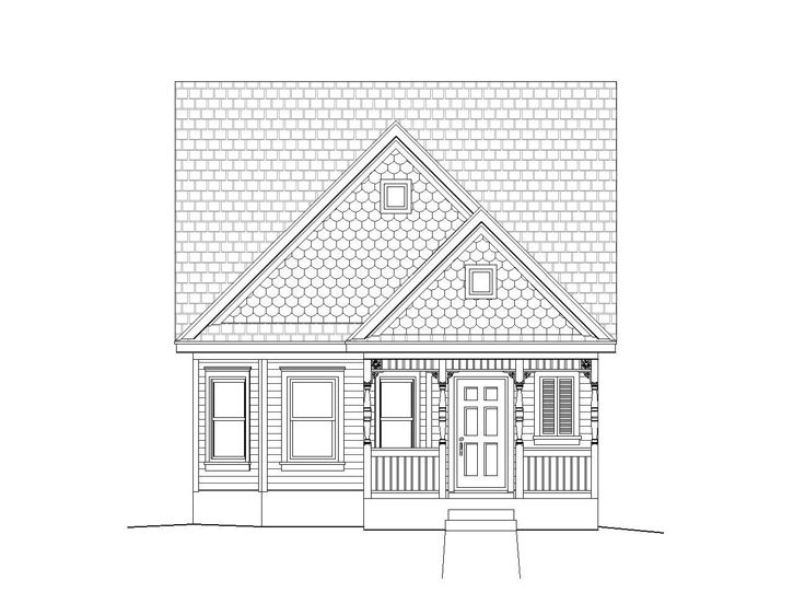 Small Home Plan, 062H-0017