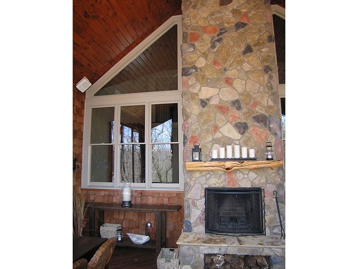 Outdoor Fireplace, 053H-0042