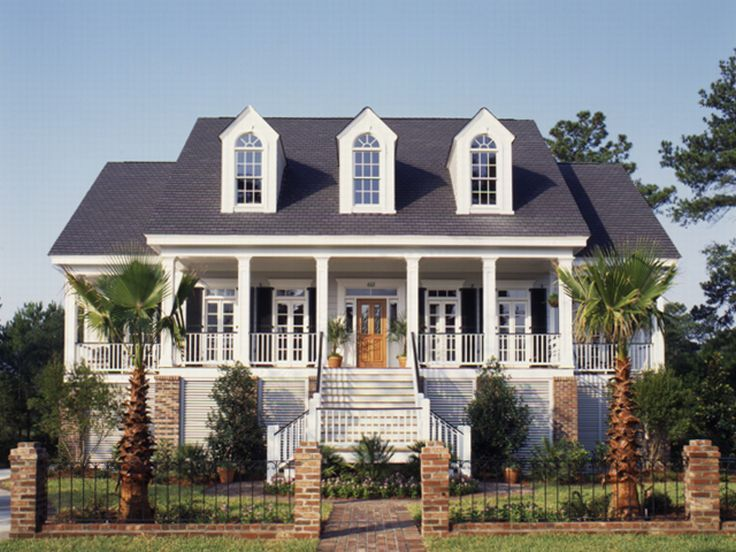 Southern country house plans floor plans for Southern house plans with photos