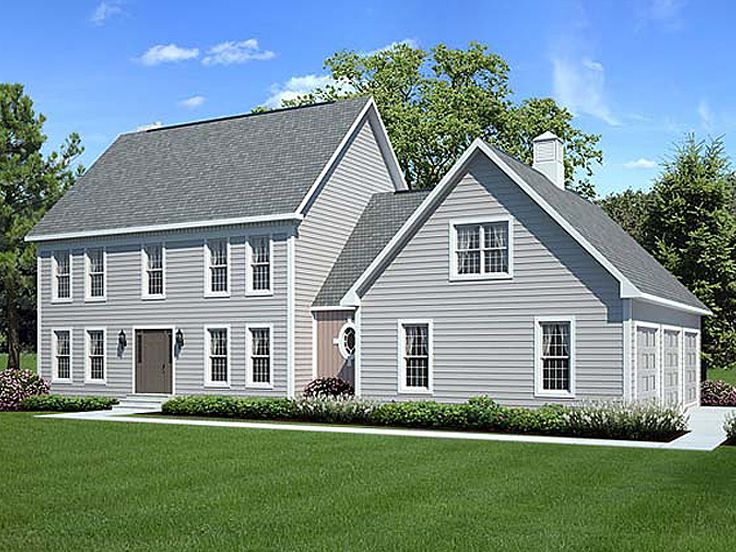 Cape Cod Home Plan, 047H-0043