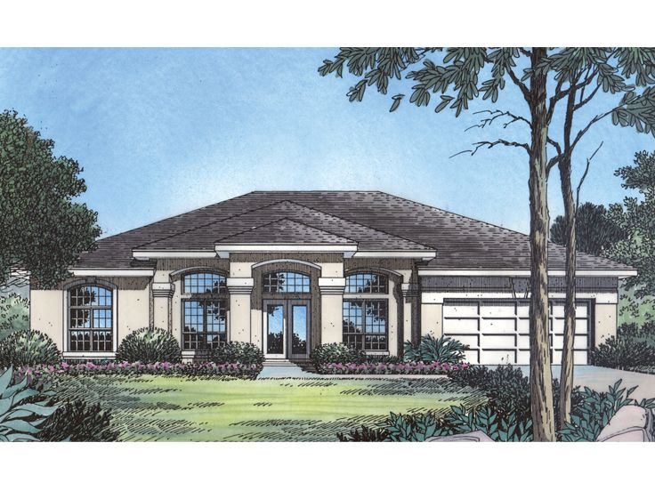 Florida Home Design, 043H 0088