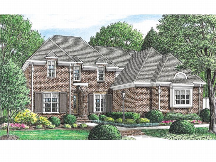 2-Story House Plan, 011H-0032