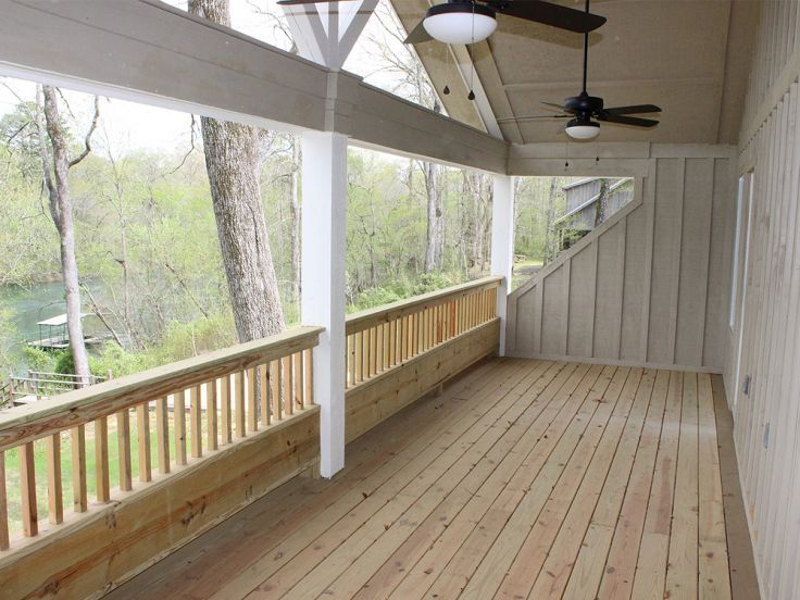 Rear Porch Photo, 062H-0029