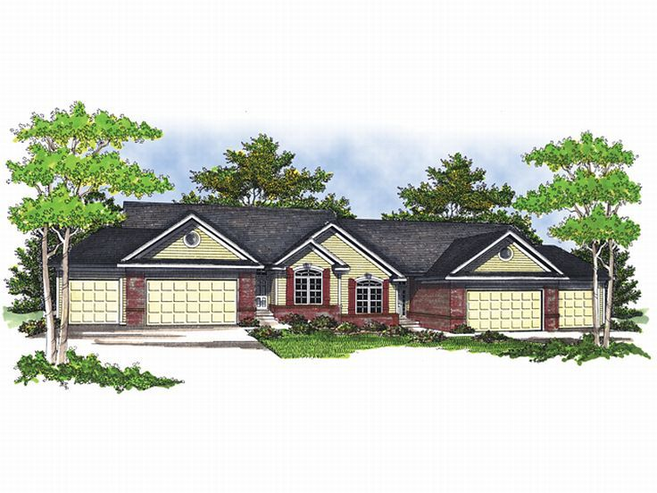 Multi-Family House Plan, 020M-0043