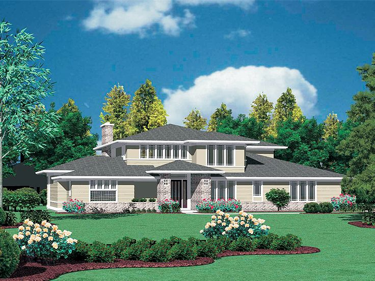 Contemporary Home, 034H-0213