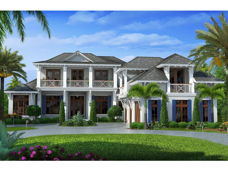 west indies house plans | premier luxury west indies home plan