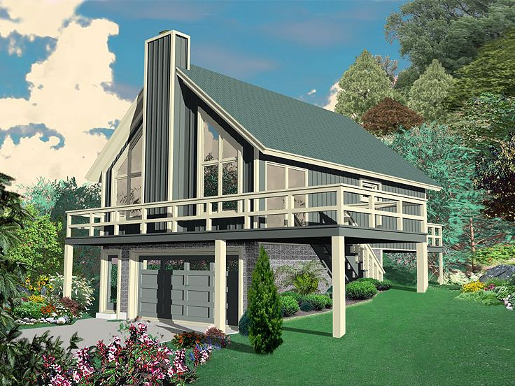 Carriage House Plan, 006G-0084
