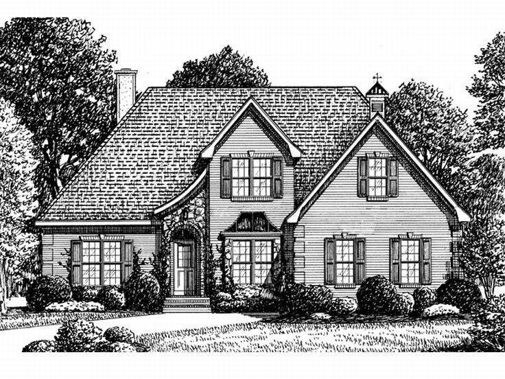 2-Story House Design, 011H-0035