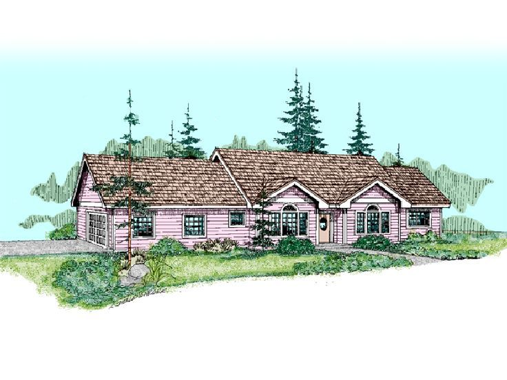 Traditional Home Plan, 013H-0054