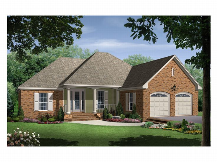 1-Story House Plan, 001H-0051