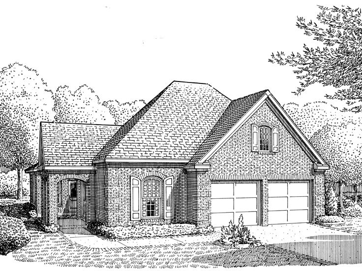 Small Home Plan, 054G-0012