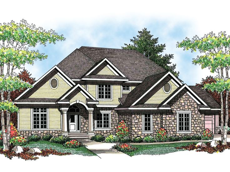 2-Story House Plan, 020H-0193