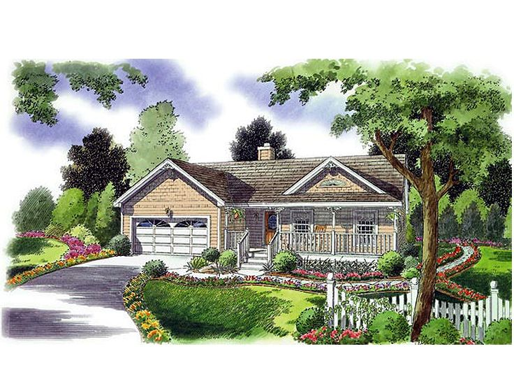 Country Home Plan, 047H-0028