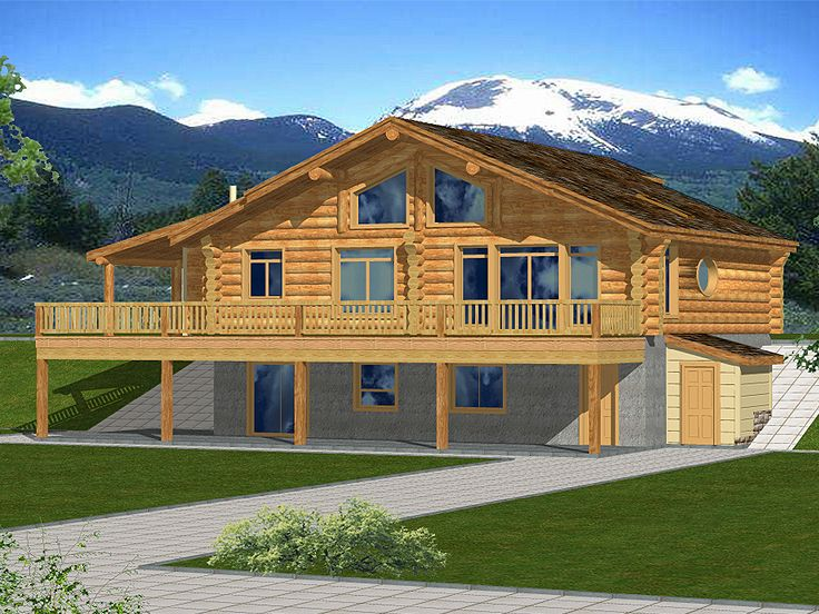Mountain Home, Rear, 012L-0061