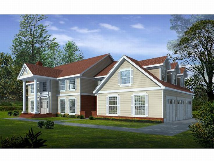 Luxury Colonial Home, 026H-0052