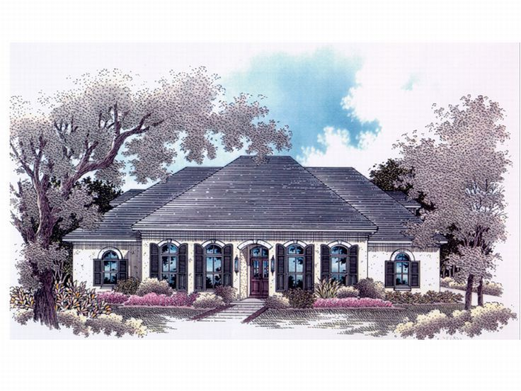 Sunbelt Home Design, 004H-0077