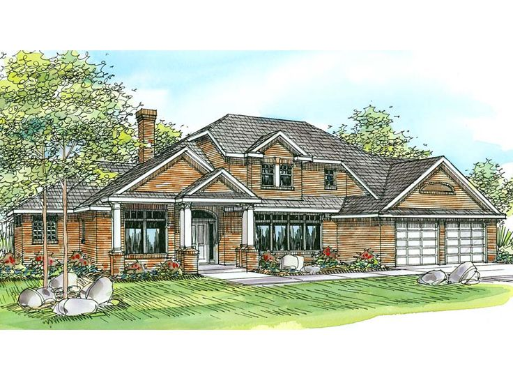 Traditional Home Design, 051H-0031