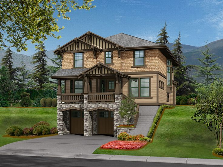 European House Plan, 035H-0015