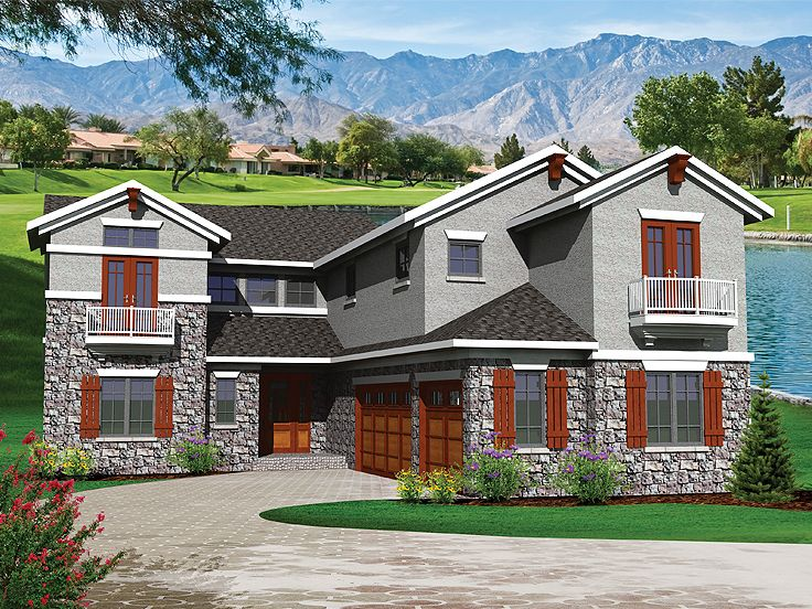 2-Story House Plan, 020H-0269