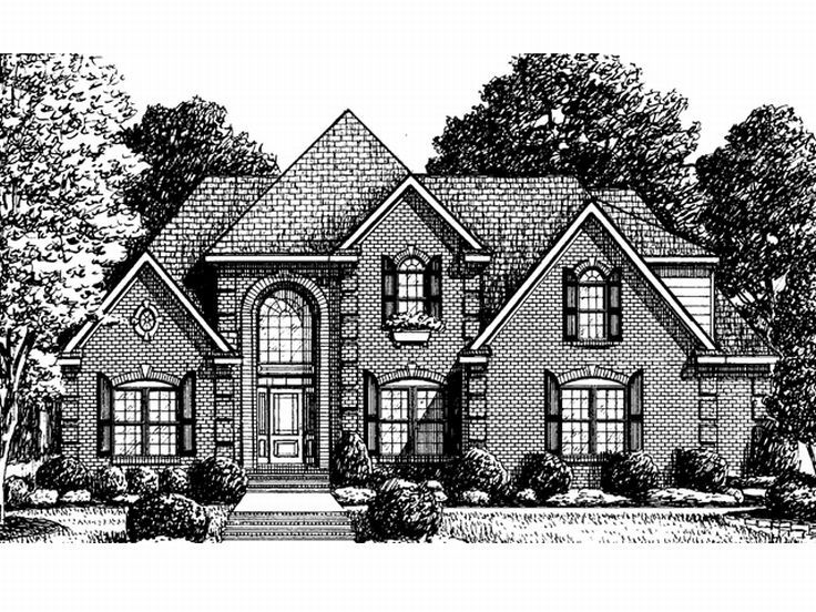 Traditional House Plan, 011H-0036