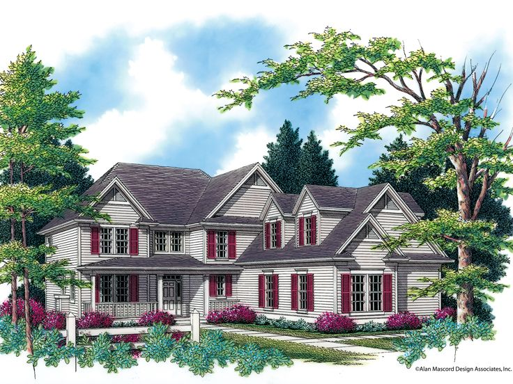 Country House Plan, 034H-0109