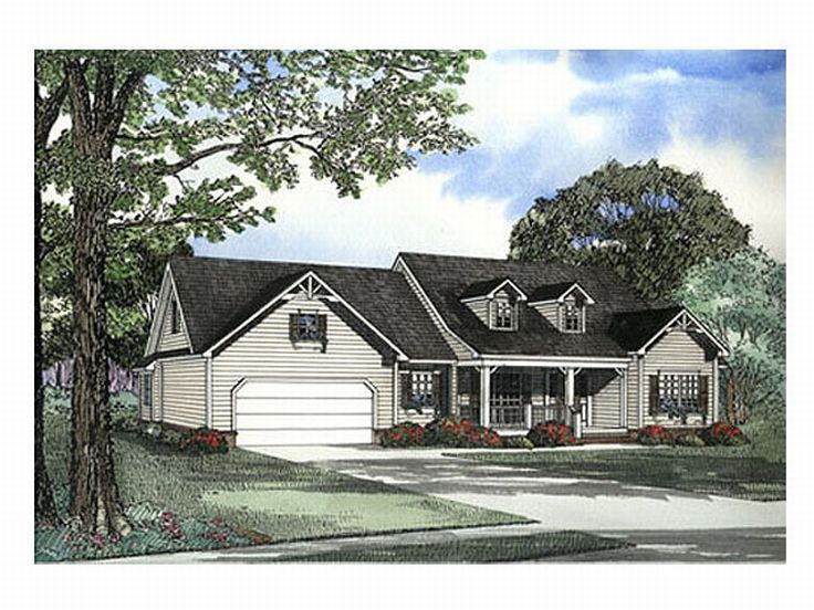 Country Home Plan, 025H-0120