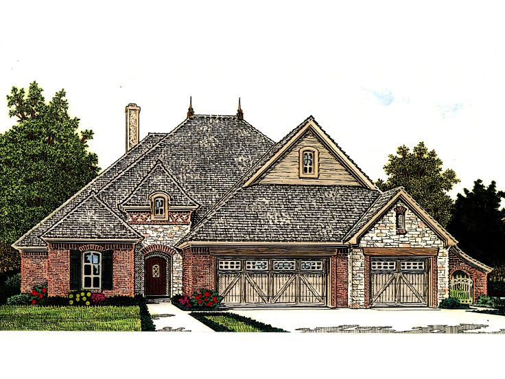 Ranch House Plan, 002H-0114