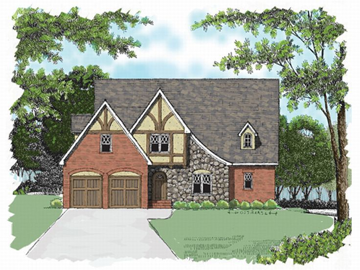 2-Story Home Plan, 029H-0016
