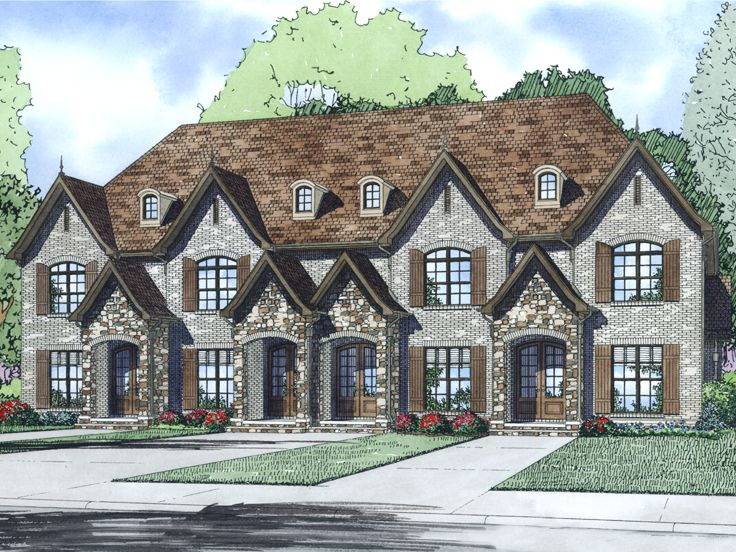 Multi-Family Home Plan, 025M-0096