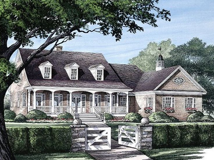 Luxury Country Home, 063H-0008