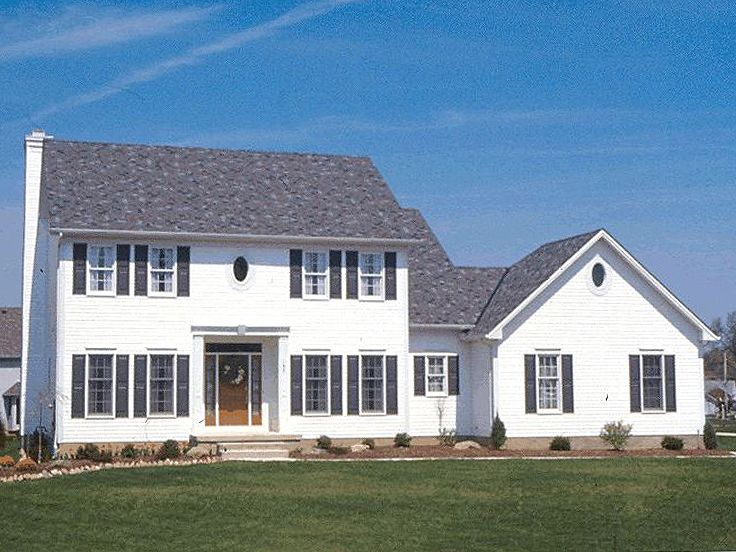 Cape Cod House Plan, 031H-0085
