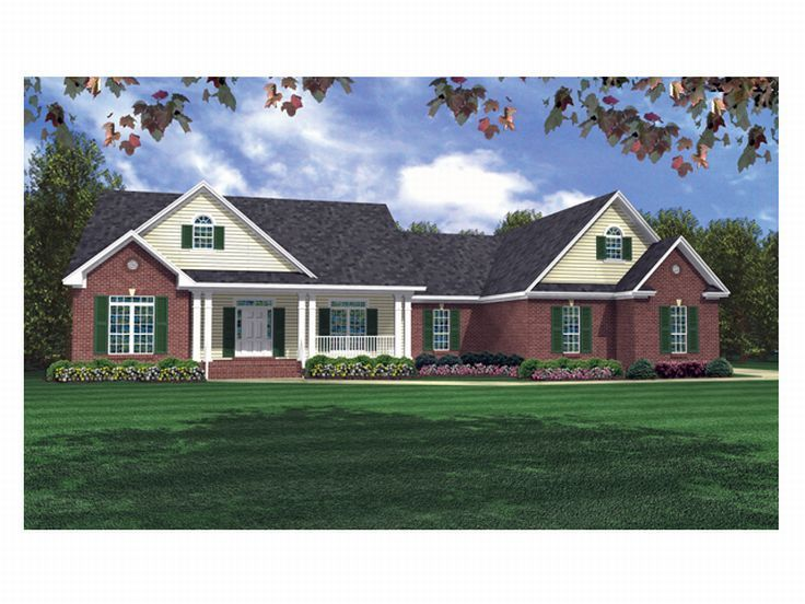 Traditional House Plan, 001H-0096