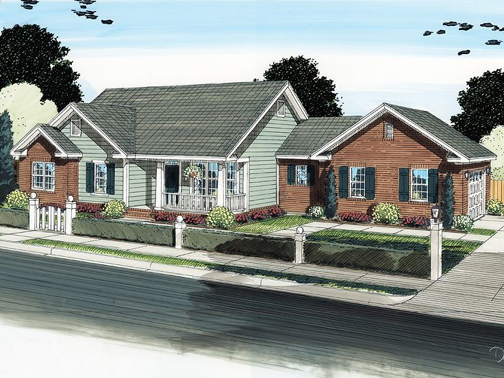 One-Story House Plan, 059H-0127