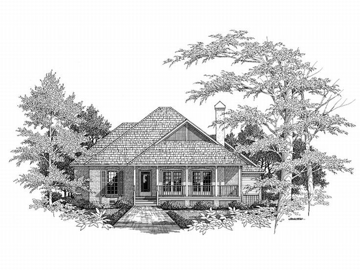 Affordable Home Design, 030H-0015