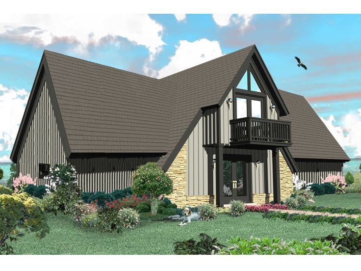 A-Frame House Plan, 006H-0149