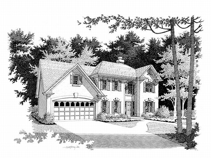 Two-Story Home Plan, 007H-0063